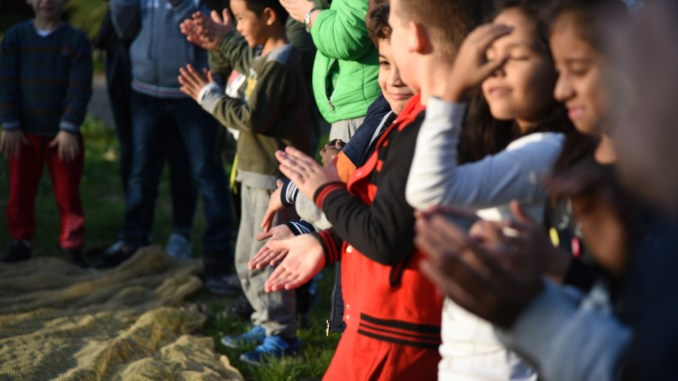 Parco Chico Mendez Perugia riprende vita, oggi c'erano 40 tra bambini e ragazzi