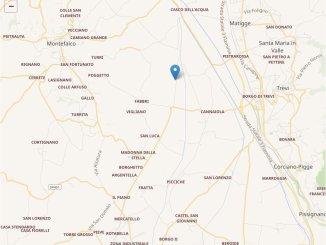 Due scosse di terremoto a distanza di un'ora a Trevi e Montefalco