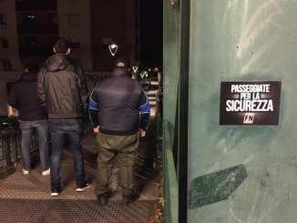 Militanti di Forza Nuova Perugia a controllare Fontivegge e Madonna Alta