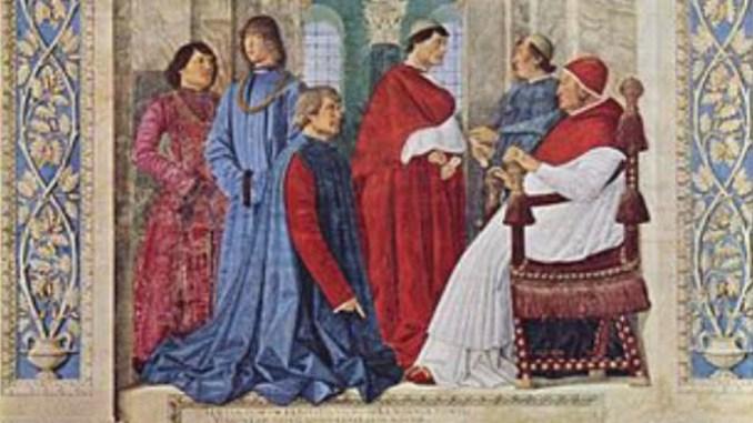 Di Norcia il primo comandantedella guardia personale del Papa