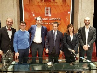 Arresti in sanità in Umbria, front line Lega in conferenza stampa a Perugia