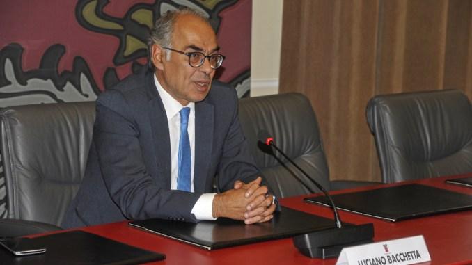 Provincia di Perugia, presidente Luciano Bacchetta, la presentazione ufficiale