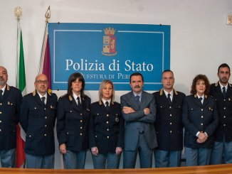 Perugia, nuovi Funzionari in Questura e nei Commissariati distaccati