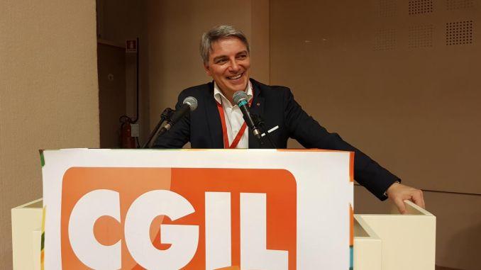 Congresso Cgil Umbria, Vincenzo Sgalla rieletto segretario generale