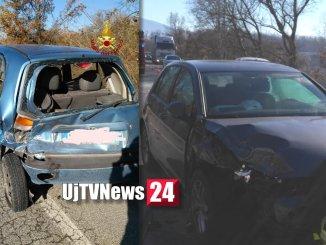 Incidente stradale a Gubbio sulla variante Padule Torre Calzolari