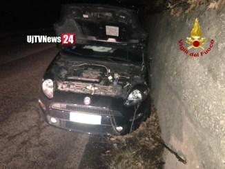 Incidente stradale tra due auto alla Contessa ci sono feriti