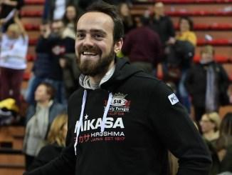 Sir Volley arrivato schiacciatore Nicholas Hoag, ha parlato della gara di Padova