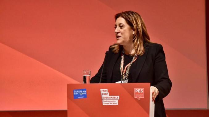 Presidente Marini a Lisbona congresso Pse, Europa più forte e coesa