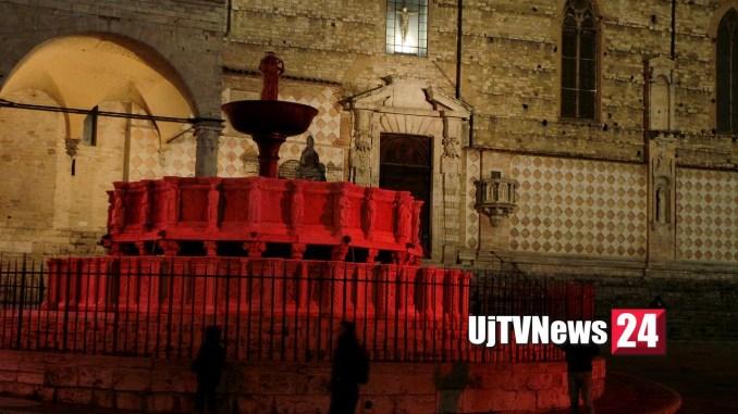 Circa 700 persone malate di Aids a Perugia Fontana rossa per loro