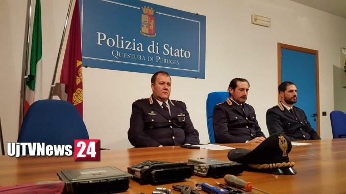 Furti in ospedale a Perugia, Squadra mobile Questura ha risolto il problema