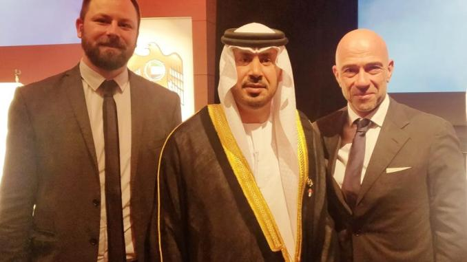 Emirati Arabi Uniti due onorificenze a Laliscia e Sindaco di Magione Chiodini