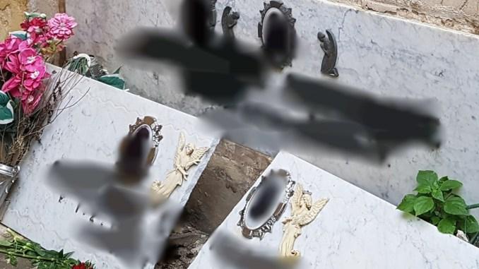 Cadono lastre di marmo al cimitero di Terni, ferita una donna