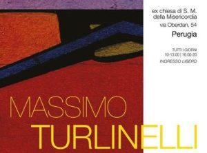 """Mostra di Massimo Turlinelli """"Superfici"""", ex chiesa Santa Maria della Misericordia @ Perugia"""