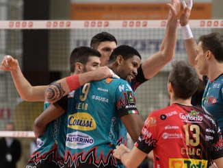 Penultima di andata in Superlega per la Sir Safety Conad Perugia