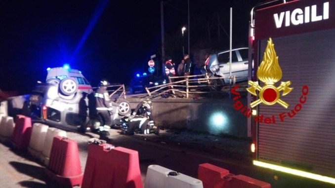 Incidente stradale, un altro sulla Flaminia, c'è un ferito