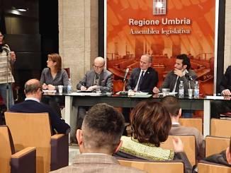 Leonelli Nella foto un momento dell'audizione di questa mattina nella Sala Partecipazione di Palazzo Cesaroni