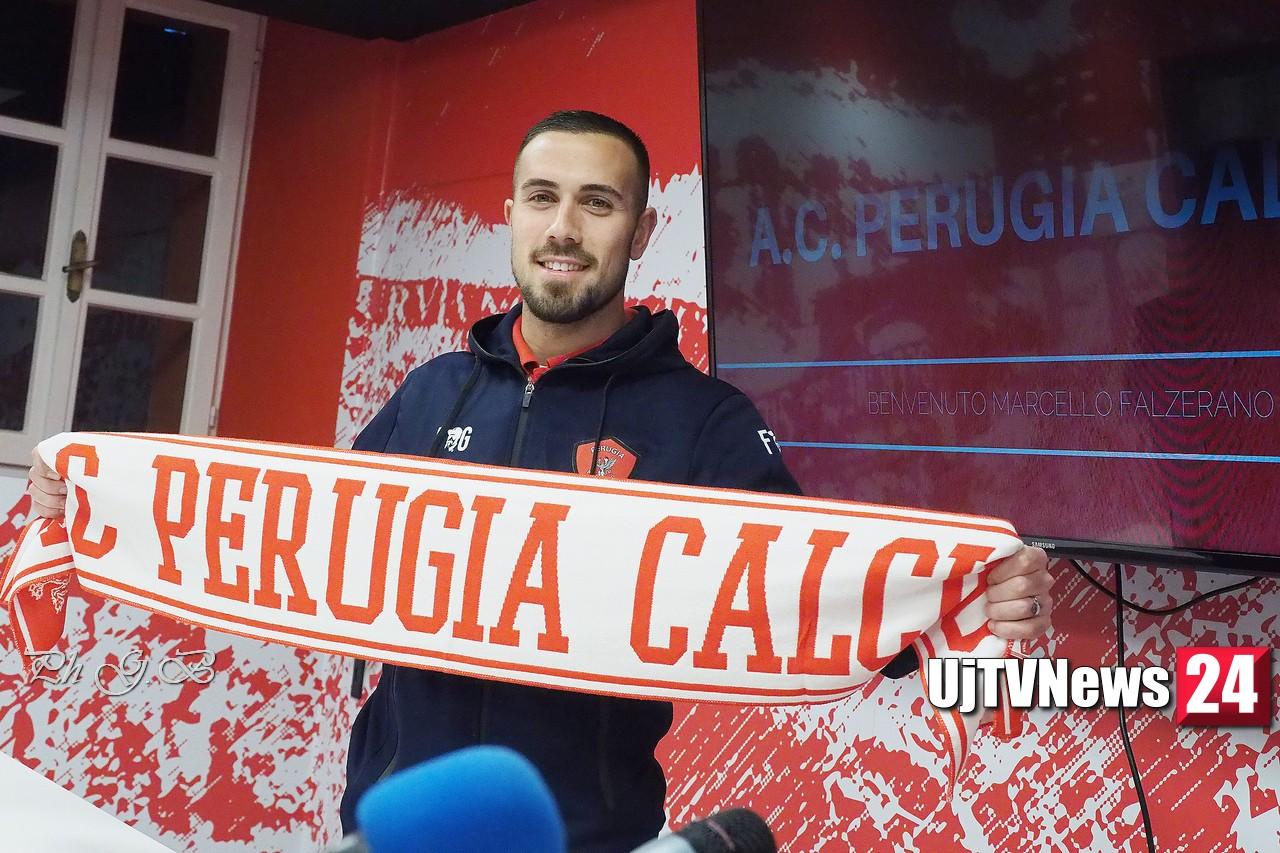 """Perugia Calcio, Falzerano, """"non mi faccio tanti film, lavoro per l'esordio"""""""