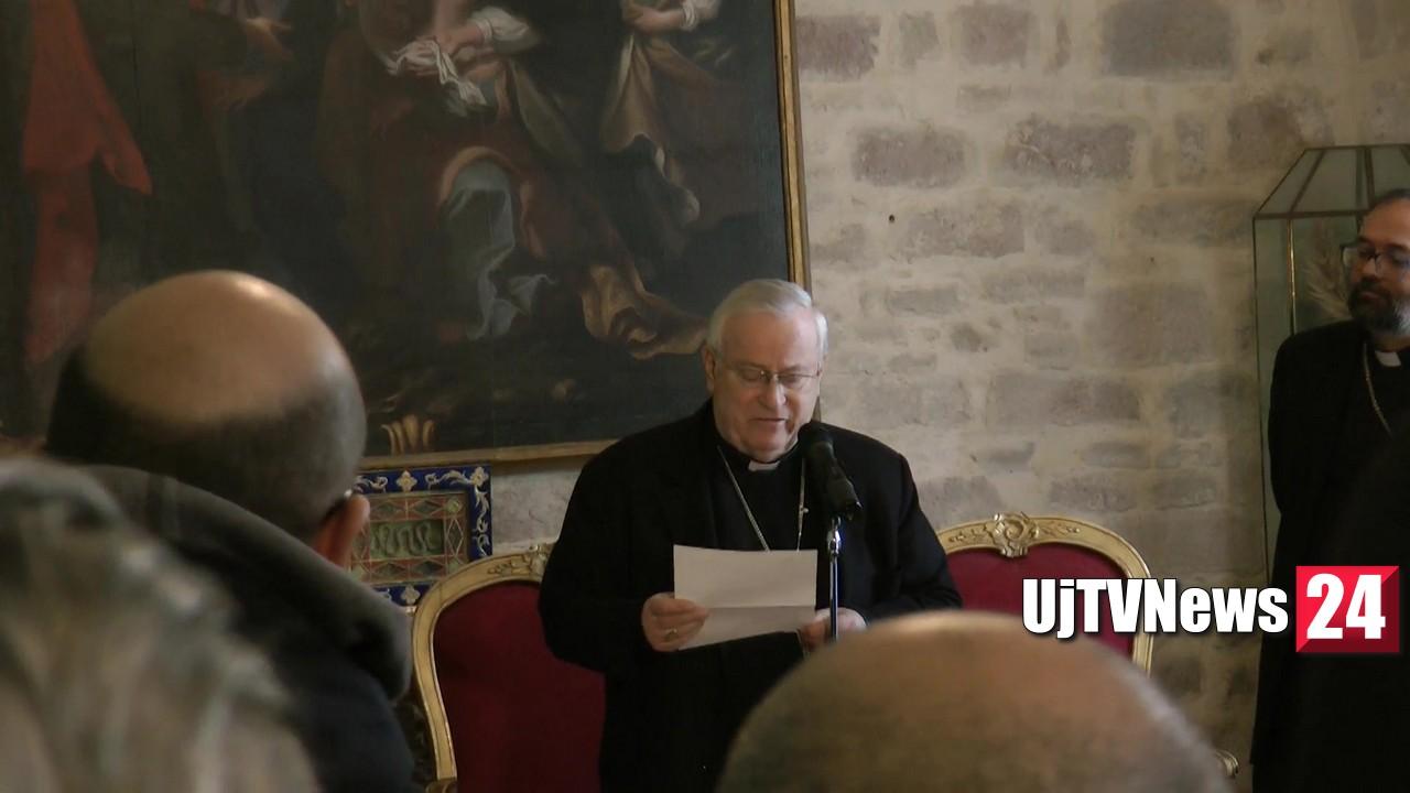 Francesco di Sales sabato 25 gennaio 2020 alle 11 giornalisti dal Cardinale