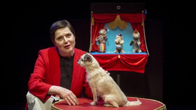 Al Teatro Cucinelli di Solomeo Isabella Rossellini con il suo Link link circus
