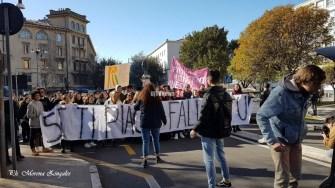 Protesta studentesca febbraio 2019 Perugia (8)