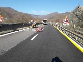 Oggi riapre il viadotto Puleto sulla E45, solo per traffico leggero però