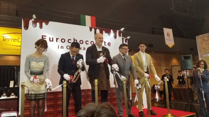Al via la prima edizione di Eurochocolate Osaka, fino al 14 febbraio