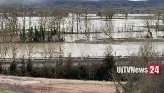 Pioggia in Umbria, Tevere sfiora soglia di esondazione