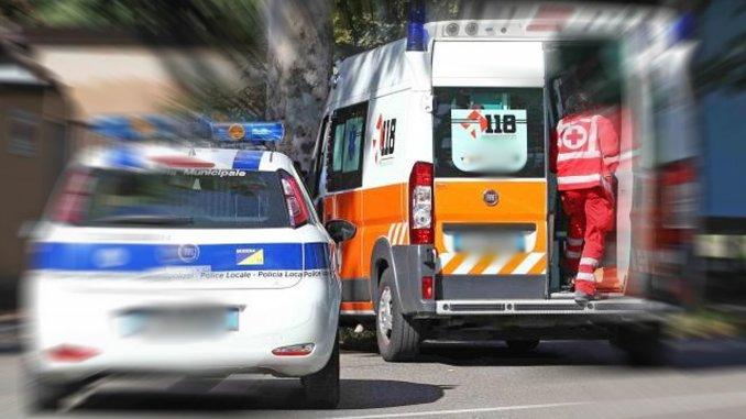 Incidente stradale con ferito a Capanne, auto contro moto