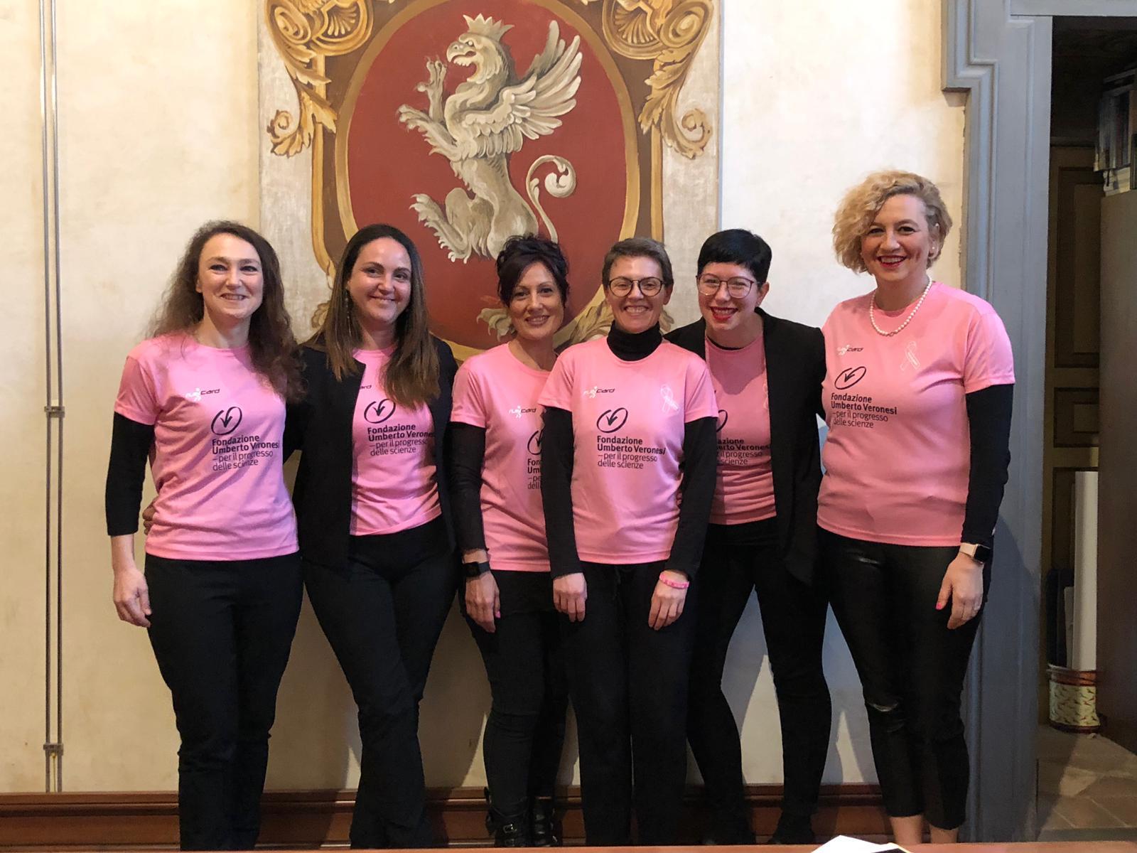 Tumori femminili Pink is Good Running Team per vincere le neoplasie