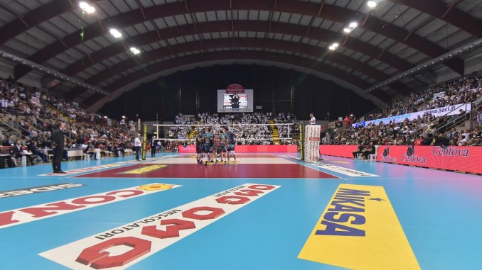 PalaBarton Superlega Sir Safety Conad Perugia contro Kioene Padova