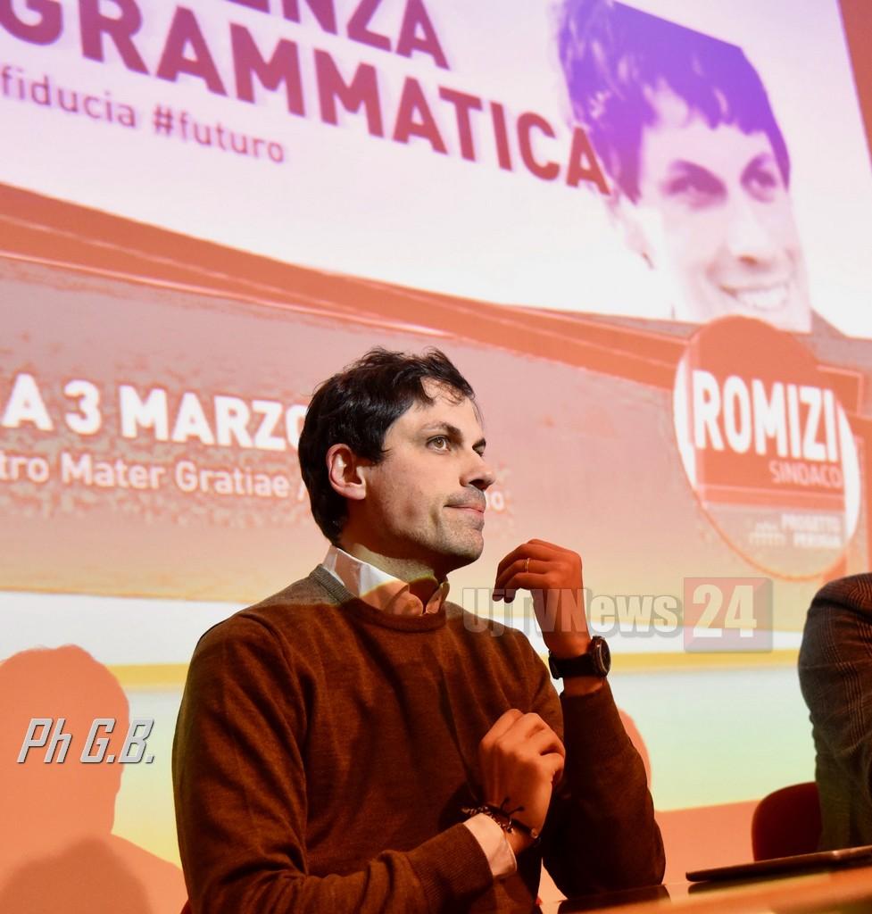Fontivegge, inaugurazione sede comitato elettorale Andrea Romizi Sindaco