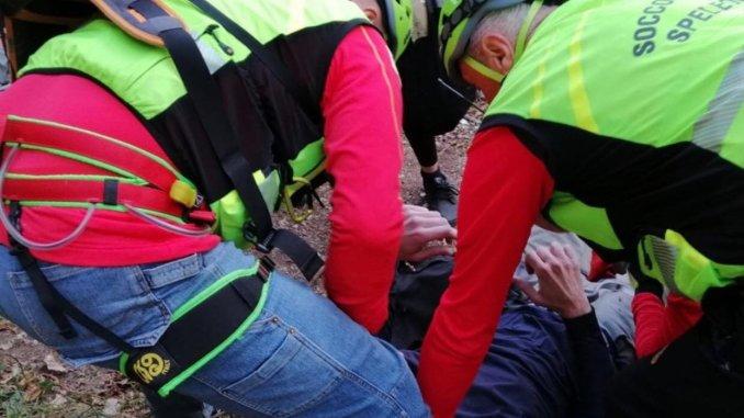 Incidente di volo con il parapendio sul Piangrande, ferito straniero