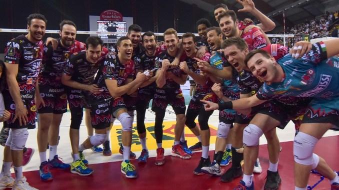 Volley, Sir Safety, primo posto in regular season