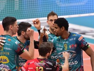 Volley, Sir Safety Conad Perugia, sconfitta indolore con Milano