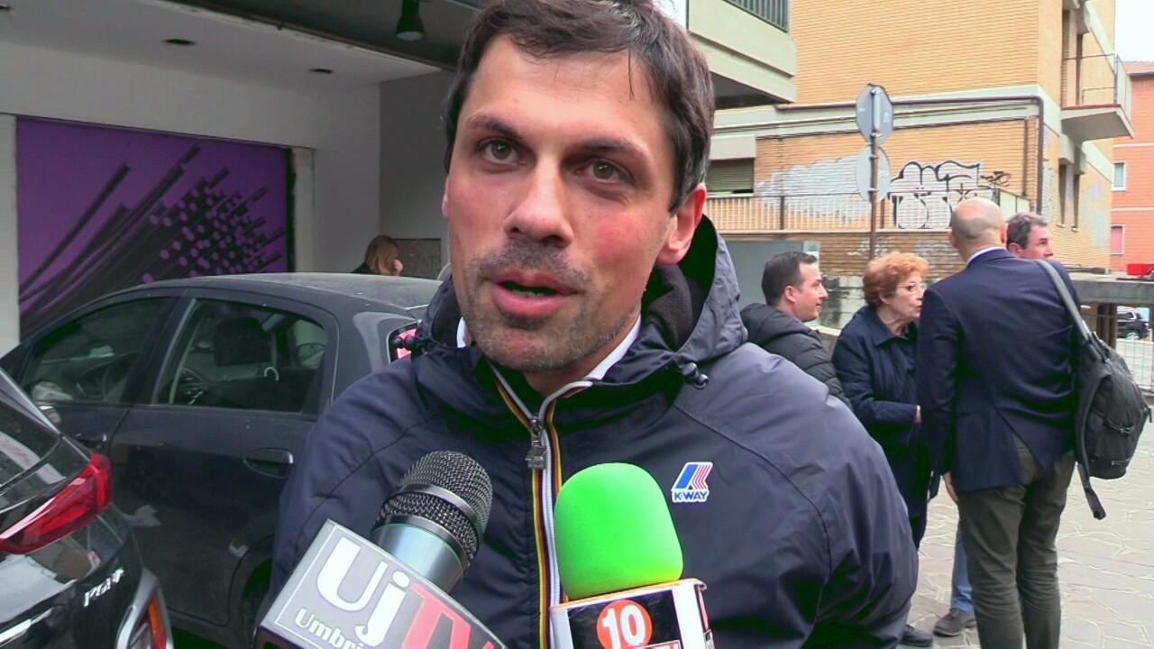 🔴Video – Andrea Romizi sindaco, la mia sede a Fontivegge non è un caso