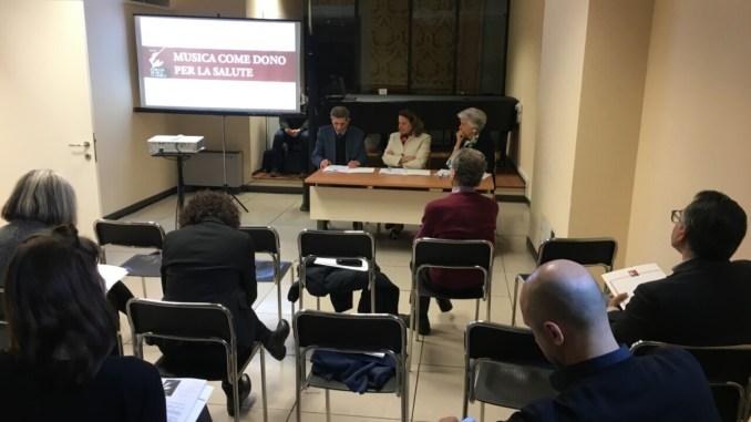 """Perugia Musica Classica onlus progetto """"Musica come Dono per la Salute"""""""