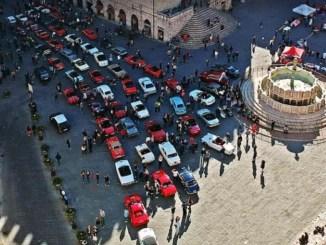 Rione di Porta Sant'Angelo vince Perugia storica gara di auto e moto storiche