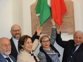 Inaugurato il busto dedicato a Enrico Pernossi