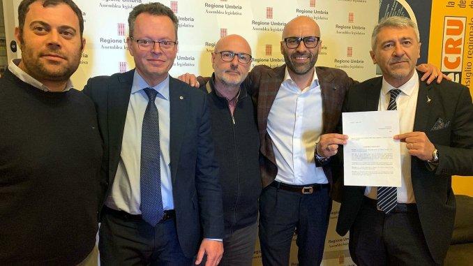 Regione, gruppi Centrodestra presentano mozione sfiducia Presidente Marini
