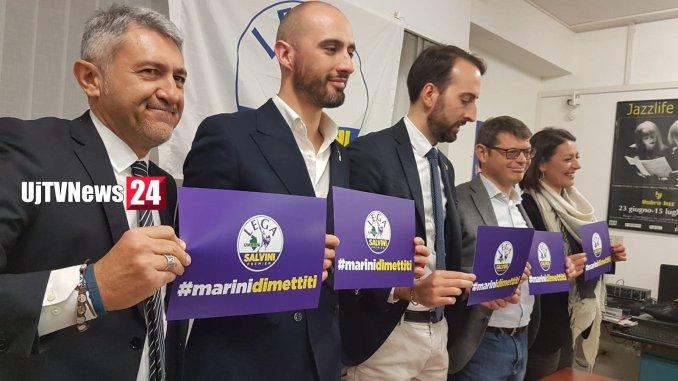 Dimissioni Catiuscia Marini, Lega, 16 aprile è una giornata storica per l'Umbria