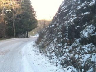 Maltempo, ritorno della neve sull'Appennino umbro, anche a 800-1000 metri