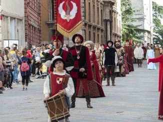 Rione Porta Sant'Angelo 4 maggio elegge la Prima dama a Perugia 1416
