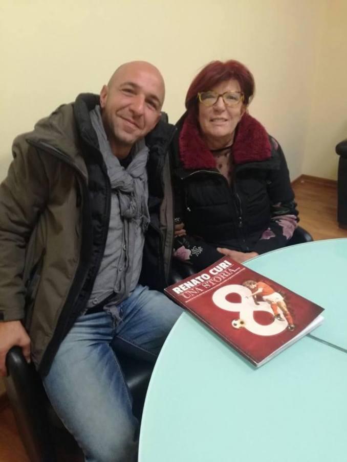 Renato Curi una storia, il ricordo appassionato nel libro del figlio