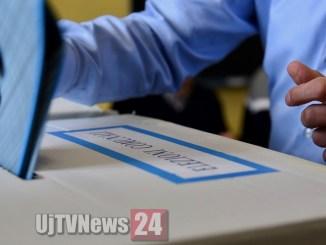 Ballottaggio, urne aperti nei 5 comuni umbri, si vota fino alle 23