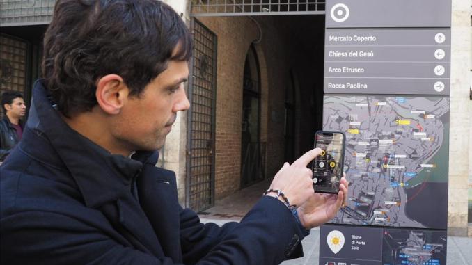 Inaugurato a Perugia nuovo sistema di segnaletica della Città