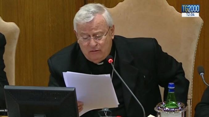Cei, Cardinale Bassetti, rivedere legge su testamento biologico