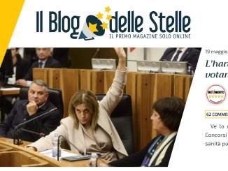 Inchiesta sanità false dimissioni Marini, Blog delle Stelle, è harakiri Pd