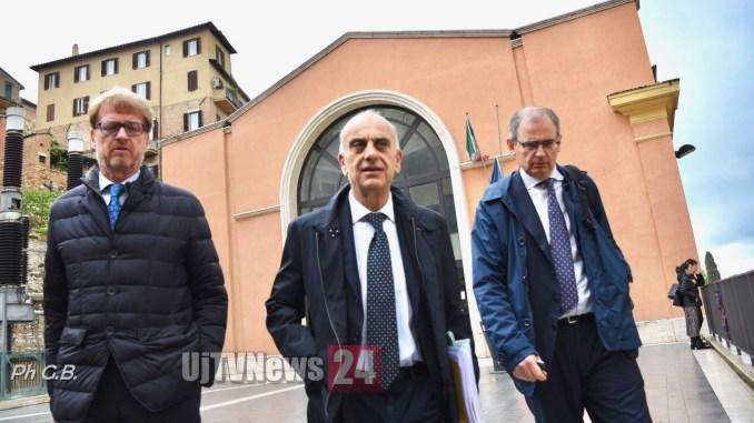 Inchiesta sanità, processo Bocci and company, rinviato a dopo elezioni