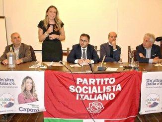 Carlotta Caponi lista+Europa candidata socialista elezioni europee