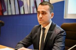 Ministro Luigi Di Majo arriva a Terni, venerdì 21 giugno